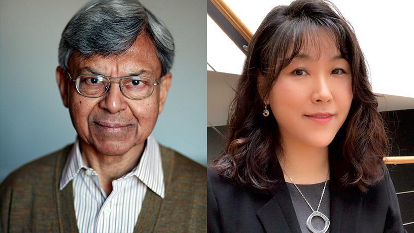 Profs. Debasis Mitra and Ah-Hyung (Alissa) Park Elected as AAAS Fellows