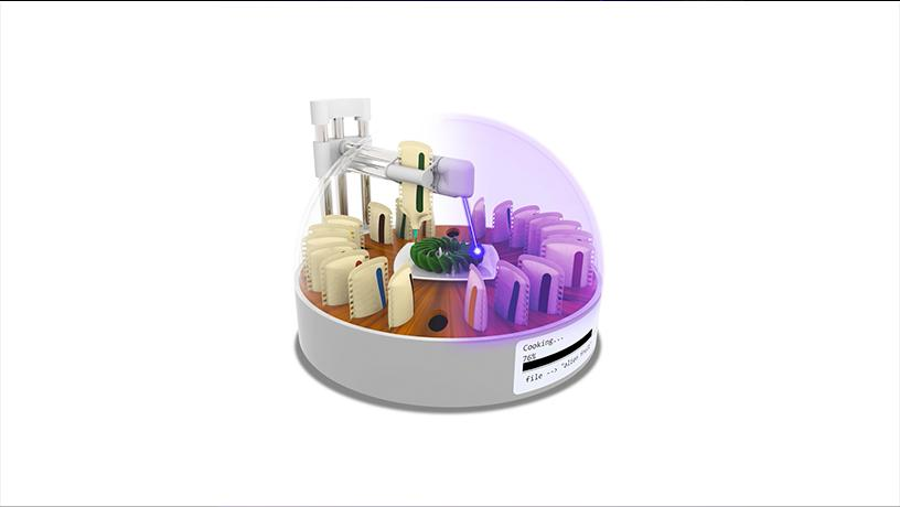 digital cooking appliance